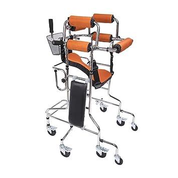 Amazon.com: TOGARR - Andador con ruedas y agarre de mano ...