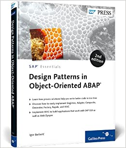 Book Design Patterns in Object-Oriented ABAP 2nd Edition