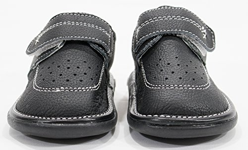 Anderson Baby Care LLC Squeaky Shoes for Toddler Boys (4T, Black Loafer) by Anderson Baby Care LLC (Image #2)'