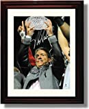 Framed Alabama Crimson Tide Nick Saban Autograph Replica Print