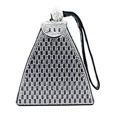 Women's Rhinestone Fashion Triangle Evening Bag