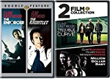 4 Clint Eastwood Film Collection Dirty Harry Enforcer & Gauntlet + Trouble with The Curve & Million Dollar Baby DVD Feature movie set