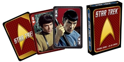 Aquarius Star Trek Playing Cards