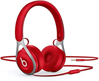 Amazon Com Beats Ep Wired On Ear Headphones Battery Free For Unlimited Listening Built In Mic And Controls Red