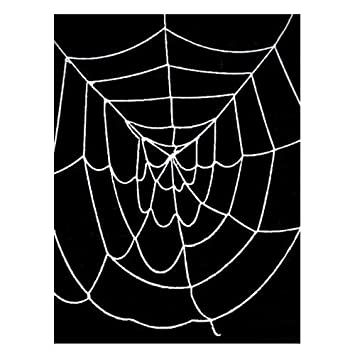 95 ft deluxe giant spider web white halloween spider web decorations - Halloween Spider