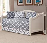 Fancy Collection 5pc DayBed Quilted Bedspread Coverlet Set Modern Geometric Grey/White New