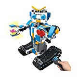 DIY Building Blocks Remote Control Robot Steam Educational RC Smart Robot Electronic Walking