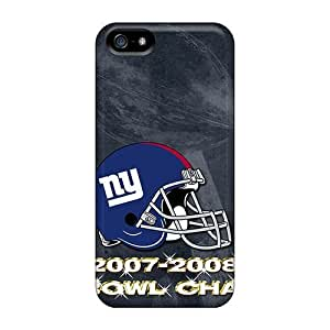 Cute Tpu Franiry79c24 New York Giants Cases Covers For Iphone 5/5s