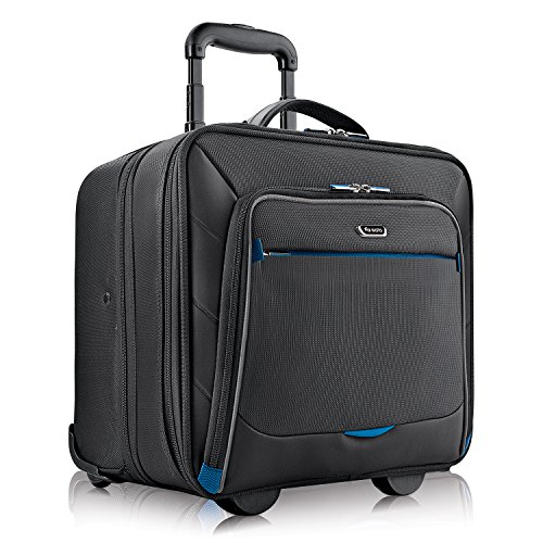 Solo Active 16 Inch Rolling Overnighter Case with Padded Laptop Compartment, Black by SOLO (Image #1)