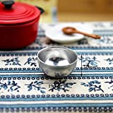 wintefei Useful Daily Home Tools 4Pcs 1:12 Dollhouse Miniature Kitchen Iron Rice Bowl Tableware Pre