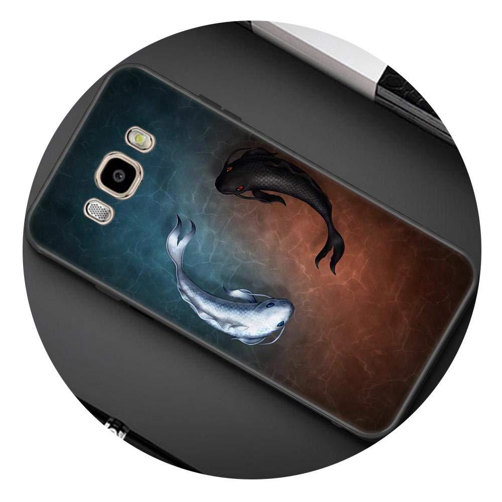 Amazon.com: Asawoene - Carcasa para Samsung Galaxy A8 Plus ...