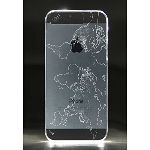 Thumbs Up iLight Cover Luminosa per iPhone 5, Giallo Trasparente