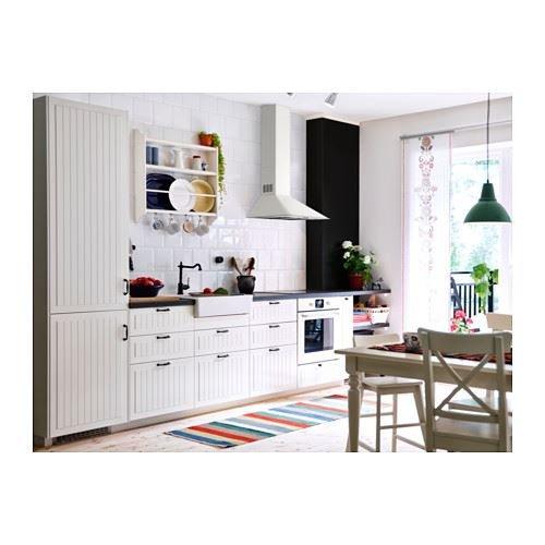 Stenstorp Tellerregal Weiß Amazonde Küche Haushalt