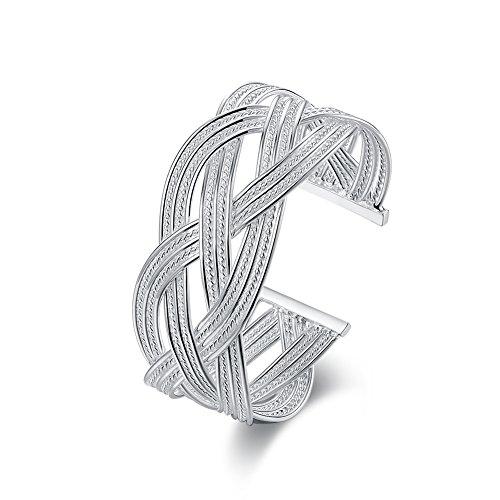 Damen-Armreif Sterling-Silber 925, offen