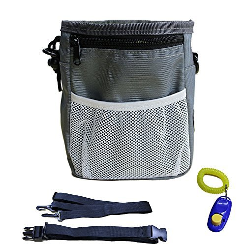 Kimol Dog Training Pouch and Clicker with Poop Bag Holders and Belts for Puppy Treats and Toys by TheMosquitoKiller