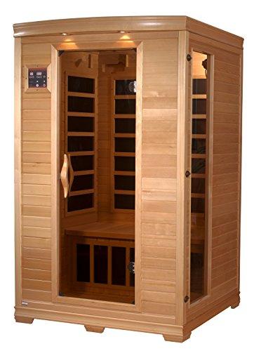 Dynamic Saunas AMZ-GDI-62-32-01 Luxury 2 Low Emf Far Infrared Sauna