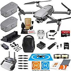 DJI Mavic 2 Zoom Drone Fly More Combo Kit with 3 Batteries