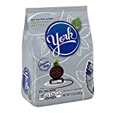 york peppermint minis - YORK Dark Chocolate Peppermint Candy (Patties), 12 Ounce Bag (Pack of 9)