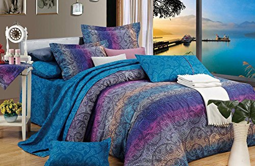 Fantasia 3pc 100% Cotton Duvet Cover Set