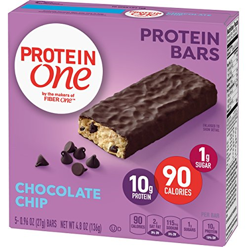 Protein One 90 Calorie Chocolate Chip Protein Bar , 4.8 Ounce (5 Count)
