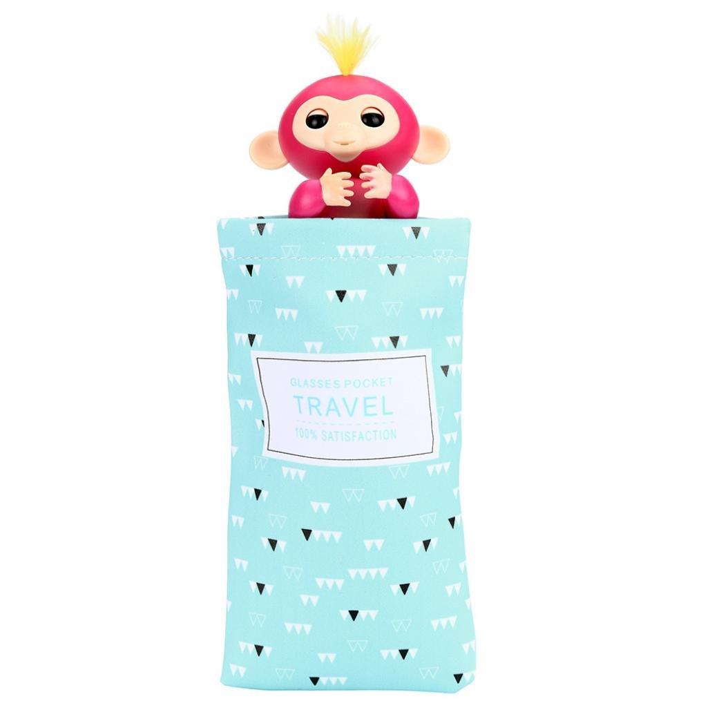 Bolsa de almacenamiento para bebé mono de juguete, Y56Cute muñecas portátil Kids Play bolsa de almacenamiento de juguetes Caja de alfombra para bebé mono, Colour A 5656YAO