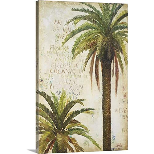 Patricia Pinto Solid-Faced Canvas Print Wall Art Print Entitled Palms 20