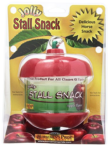 Horsemen's Pride Stall Snack Holder with Apple Flavored - Snack Refill Stall