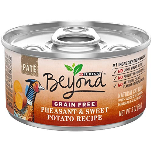 Purina Beyond Grain Free, Pheasant & Sweet Potato, 3 oz can (Pack of 12)