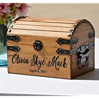 New Baby Gift Box Infant Keepsake Box Small Memory Trunk Boho Shower Gift for Mom Ideas Custom Engraved Treasure Chest for Newborn