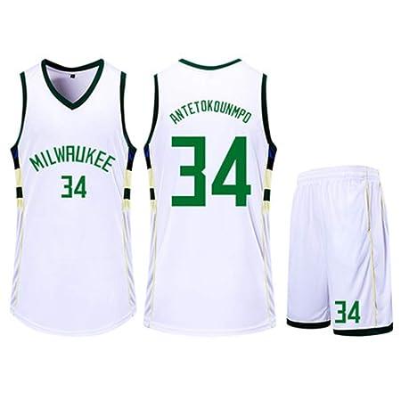 HSLIUQIUYI Giannis Antetokounmpo NBA Milwaukeebucks 34Th ...