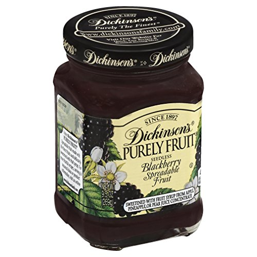 Dickinson's Purely Seedless Blackberry Spreadable Fruit, 9.5 oz