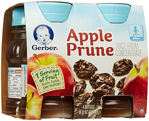 Gerber Juice - Apple Prune - 4 fl oz - 4 pk