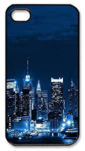icasepersonalized Personalized Protective Case For Iphone 4/4S CoverNew York City Skyline
