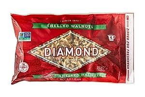 Diamond of California, Shelled Walnuts, 16 Ounce