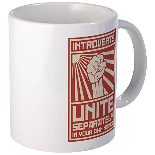 CafePress Introverts Separately Unique Coffee product image