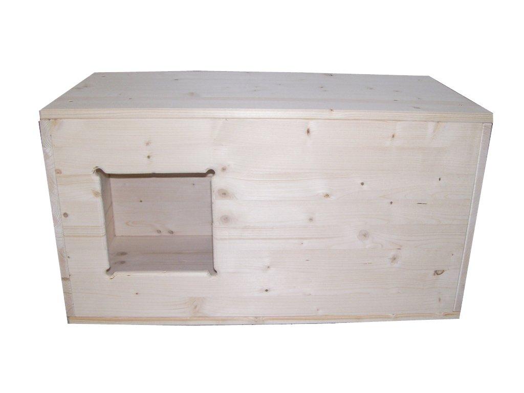 Easy-Hopper Kuschelhöhle / Wurfbox / Welpenbox / Schlafplatz für Katzen und kleine Hunde