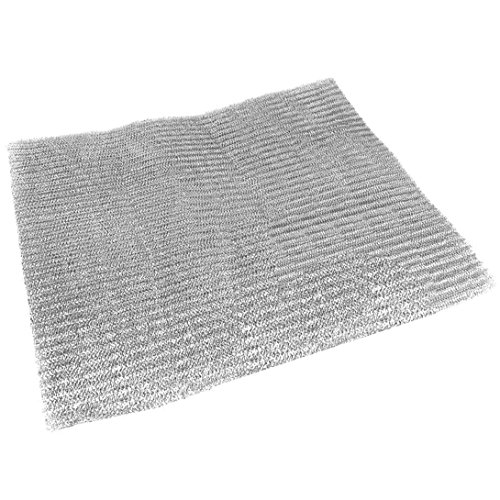 Spares2go Aluminium Mesh Filter For Aeg Baumatic Cooker Hood / Extractor Fan Vent 57 x 47 cm, Cut to Size (Aeg Cooker Hoods)
