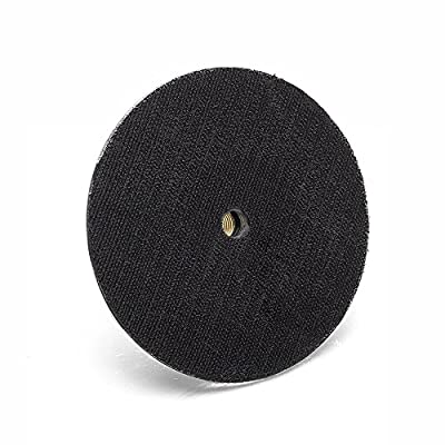 GP12726 Hook and Loop Rotary Backing Pad with Water Feed Hole, 5/8''-11 Thread/Diameter 4 inch: Home Improvement