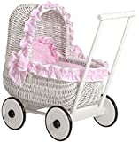 My Sweet Baby Unique Dolls Pram Model (Pink)