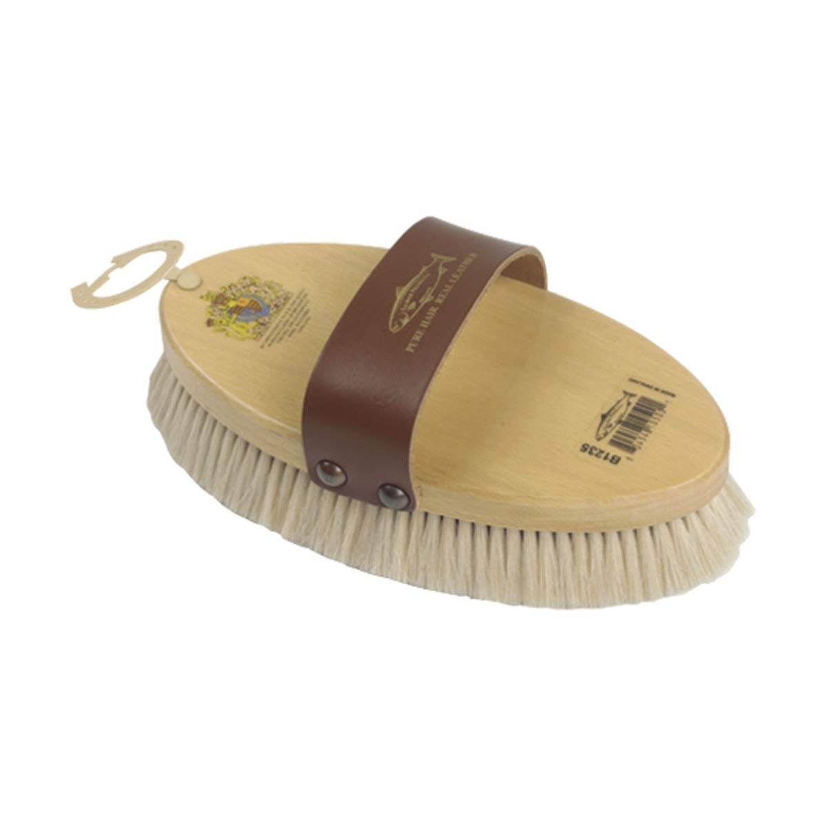Vale Brothers Goat Hair Body Brush (Large) (Natural)