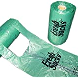 Fresh Sacks Biodegradable Diaper Disposal Bags, Roll of 250 (8-Pack)