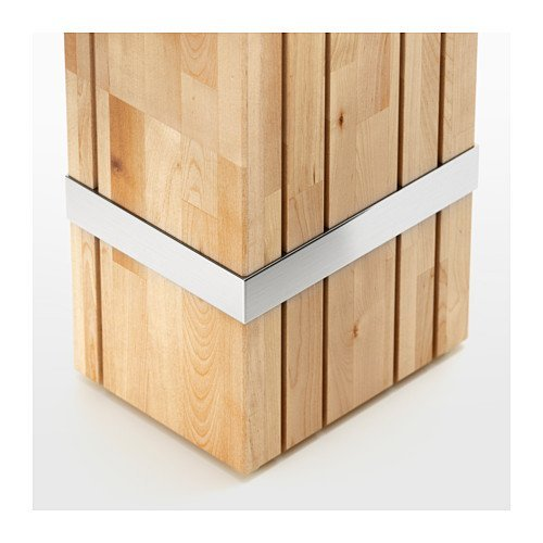 Amazon.com: IKEA – Bloque para cuchillos reträtt, Solid ...