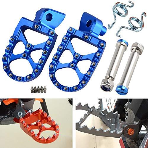 Victoria-ACX - Footrest Footpeg Foot Pegs Rest Pedal Pin For Husqvarna TE FE TC FC TX FS 65 85 125 150 200 250 300 350 390 400 450 501 14-