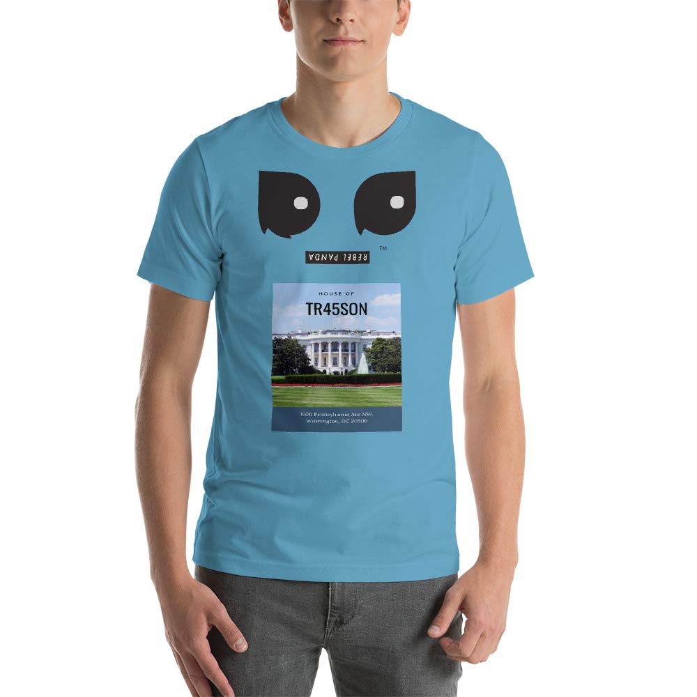 REBEL PANDA House of TR45SON Premium Short-Sleeve Unisex T-Shirt