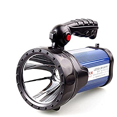 XINLY-630 Super Practical LED Waterproof Rechargeable Portable Searchlight, LampLight ,30W CREE T6 LED Searchlight, Lithium Battery,Blue