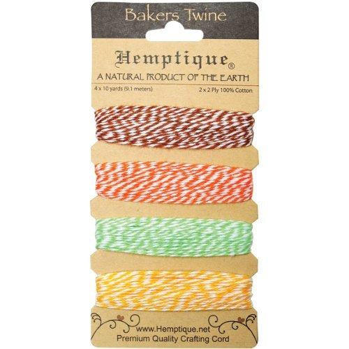 Maple Bakers Pin (Hemptique BTC2-PIN Cotton Bakers 2-Ply Twine Card Set, Pineapple, 120-Feet by Hemptique)