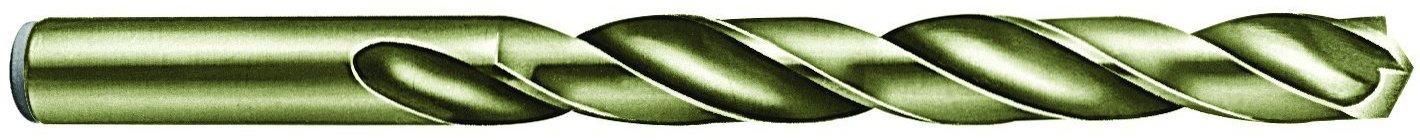 Triumph Twist Drill Co. 046616 1/4 Diameter T4C Cobalt Steel Drill, Bronze Oxide Finish, 12-Pack