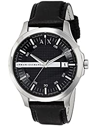 Armani Exchange AX2101 Reloj Negro de Cuarzo con Visualización Analógica para hombre