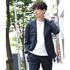 (タケオキクチ) TAKEO KIKUCHI [洗える ストレッチ]CS_番千鳥プリントジャケット Fabric by COOLDOTS(R) 07046038 04(LL) ダークネイビー(494)