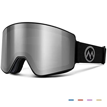 Amazon.com: OutdoorMaster Meander - Gafas de esquí, lentes ...